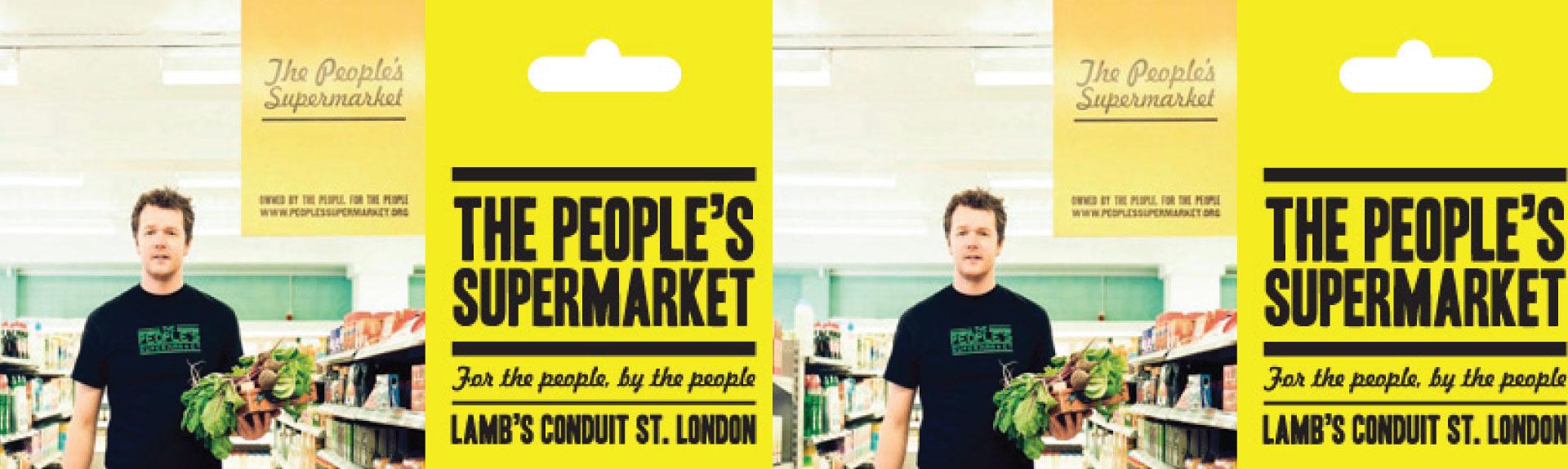 Il negozio siamo Noi: People's Supermarket