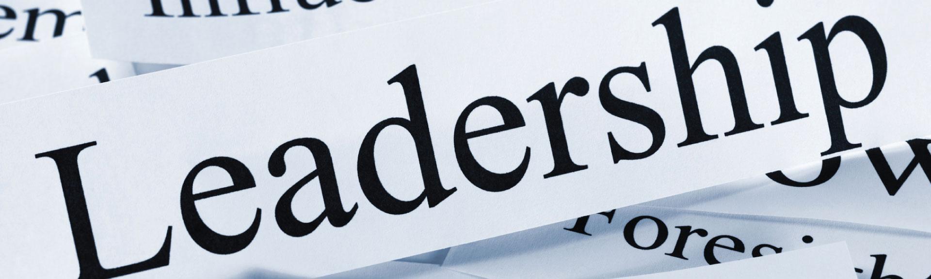 La leadership? È self, open e cross generation
