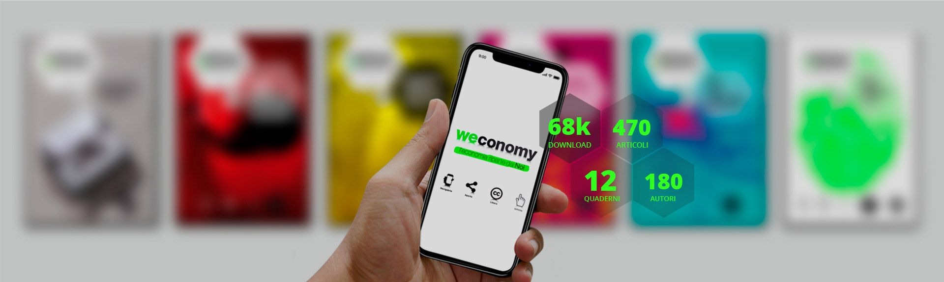 Weconomy: l'economia collaborativa dal 2010