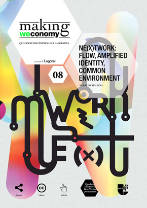 Ne(x)twork: flow, amplified identity, common environment